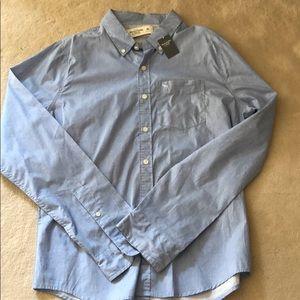 Men's Abercrombie Fitch Light Blue Button Down XL